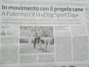 Articolo dog sport day gds 23-05-2017