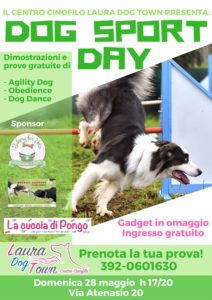 locandina dog sport day